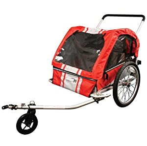 Eleven81 Open Road Alloy Trailer Red/Sl, Red/Silver