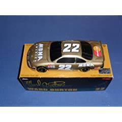 1997 NASCAR Action Racing Collectibles . . . Ward Burton #22 MBNA Gold BANK Pontiac... by NASCAR