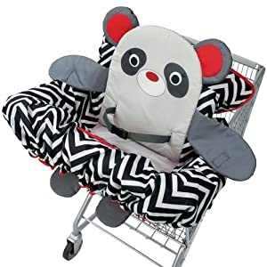 Buddy Guard 2-in-1 Cart Cover- Panda