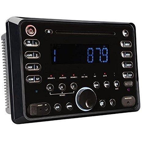 Magnadyne Rv5090 Am Fm Cd Dvd Bt 120w Wall Mount Receiver