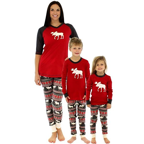 weixinbuy-family-matching-christmas-sleepwear-mom-dad-deer-striped-pajamas-set-2t