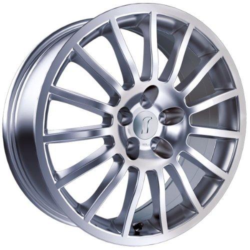 1 x Rondell Design 0026 in 7,0 x 17 ET 37 LZ/LK 4 x 100 Farbe Silber Lackiert für Fiat Punto Abarth Typ 199