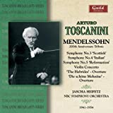 Toscanini: Mendelssohn 200th Anniversary Tribute