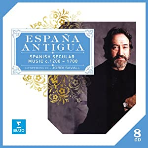 Espana Antigua : Spanish Secular Music (Coffret 8 CD)