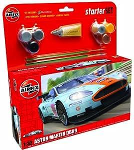 Airfix A50110 Aston Martin DBR9 Gulf 1:32 Scale Model Large Starter Set