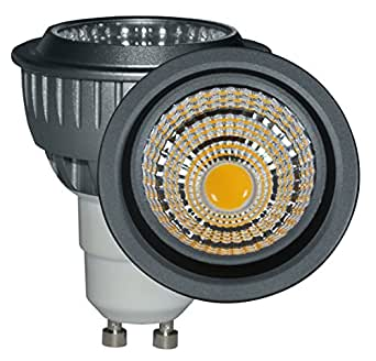 dimmable gu10 led bulb 7w 600 lumen 35w 50w 55w halogen replacement warm white 3000k. Black Bedroom Furniture Sets. Home Design Ideas