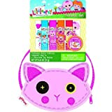 Lalaloopsy Cosmetic Bag with Lip Balms and Body Tattoos