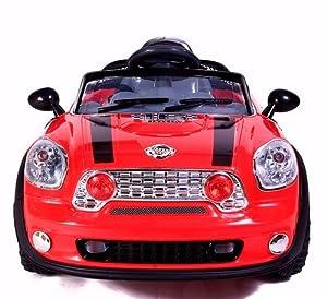 STORM 2013 RED MINI 6V KIDS RIDE ON ELECTRIC CAR PARENTAL REMOTE CONTROL Bigger 6V 10Ah Battery & More Powerful Motors