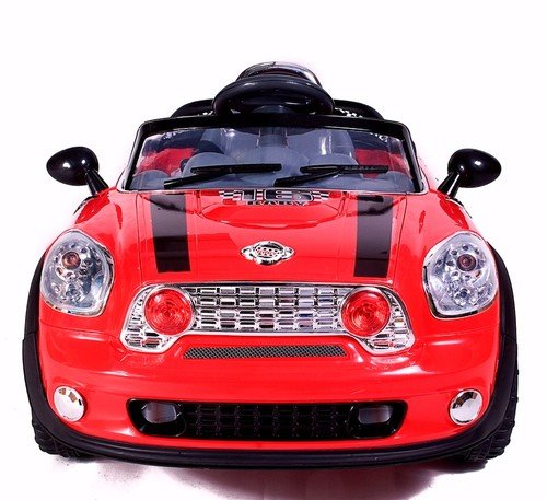 Storm 2013 Red Mini 6V Kids Ride On Electric Car Parental Remote Control Bigger 6V 10Ah Battery & More Powerful Motors