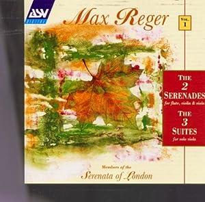 2 Serenades for Flute, Violin & Viola