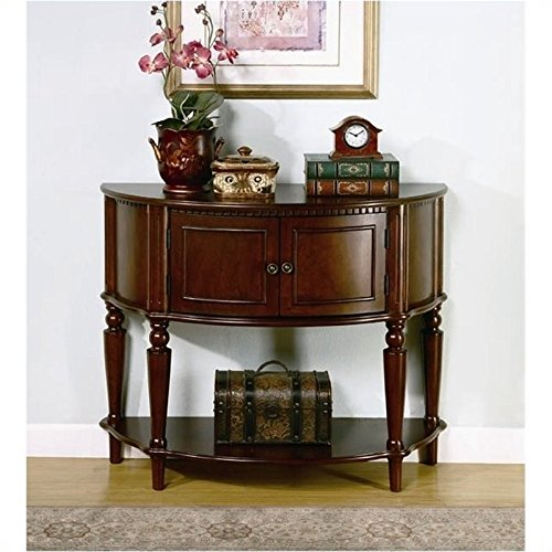 Coaster Storage Entry Way Console Table/Hall Table, Brown Finish (Coasters Console Table compare prices)