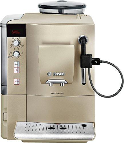 Bosch TES50354DE Kaffee-Vollautomat VeroCafe Latte  sand-metallic