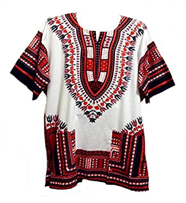 Dashiki Shirt Men's Dashiki African Shirt Free Size Several Colors