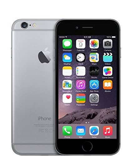 Apple iPhone 6 (Space Grey, 128GB)