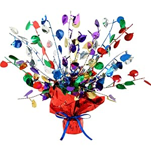 Balloon Gleam 'N Burst Centerpiece Party Accessory (1 count) (1/Pkg)