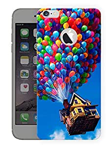 """Humor Gang House In The Air Printed Designer Mobile Back Cover For """"Apple Iphone 6 - 6s"""" (3D, Matte, Premium Quality Snap On Case)"""