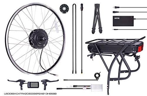 Electric-Bicycle-Conversion-Kit-500W-ebike-Kit-Samsung-BATTERY-INCLUDED-48v13Ah
