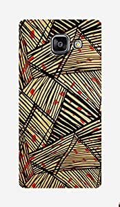 ZAPCASE Printed Back Case for Samsung galaxy A5 2016 edition