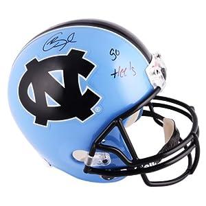 Giovani Bernard North Carolina Tar Heels Autographed Riddell Replica Helmet with Go...