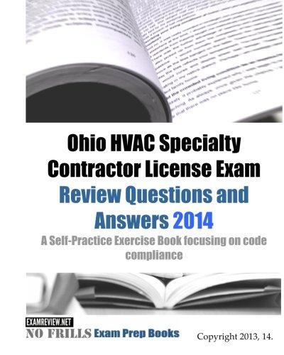 Ohio Hvac Specialty Contractor License Exam Review