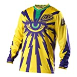 Troy Lee Designs GP Downhill Jersey Cyclops yellow/purple (Size: L)