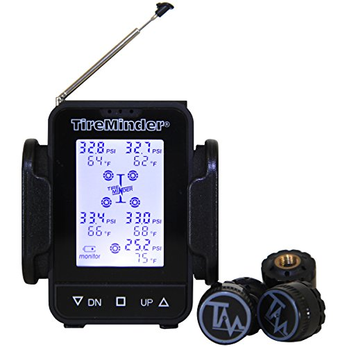 TireMinder TM55c-B Tire Pressure Monitoring System (TPMS) for Trailers, Travel Trailers, Toy Haulers, 5TH Wheels and more (Tire Pressure Monitoring System 4 compare prices)