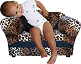 Fantasy Furniture Wave Chair, Leopard