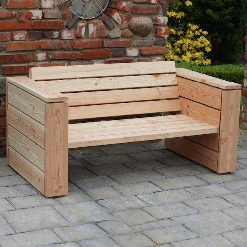 binnen-markt Lounge Sofa 2-Sitzer Heimisches Holz Douglasie Natur günstig online kaufen