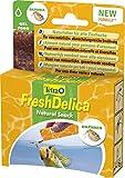 Tetra 768666 TetraFreshDelica Daphnien, Naturfutter in nährstoffreichem Gelee, 48 g