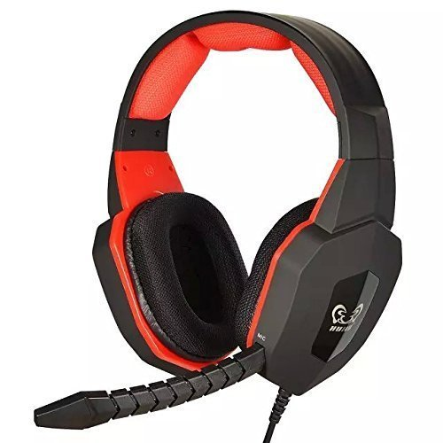 GuDenns PC MAC PS3 PS4 XBOX 360 Wired Stereo Multifunctional Gaming Headset for Pro Gamers with Plug-in Microphone Noise Cancellation Also Compatible with XBOX ONE (If u Already Have an Adapter) (Custom Xbox 360 Headset compare prices)