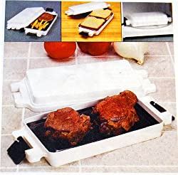 MICROWAVE STEAK/BURGER/HOT DOG GRILL AND MORE!