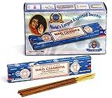 Satya Sai Baba Nag Champa Agarbatti (15gmsX 12 Box)