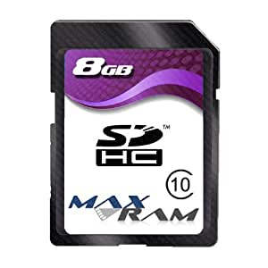 8GB SD Memory Card for Canon PowerShot A480 digital camera/camcorder / Class 10