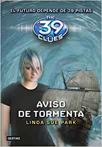 Storm Warning The 39 Clues, Book 9  - Audio 2010 by Park, Linda Sue Ex-library