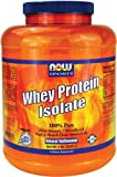 NOW Foods Whey Protein Isolate, 100% Pure 5Lb