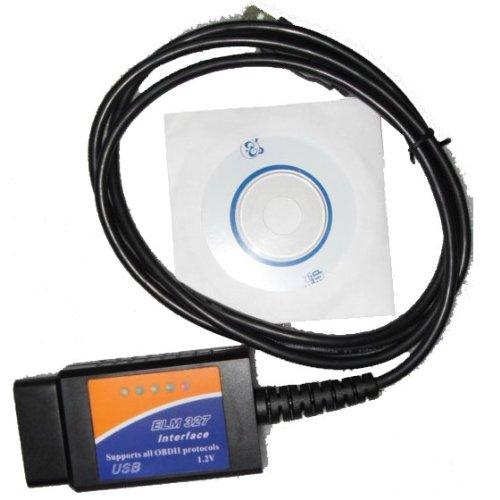 ELM 327 USB OBD2 Car Diagnostic Interface Code Scanner