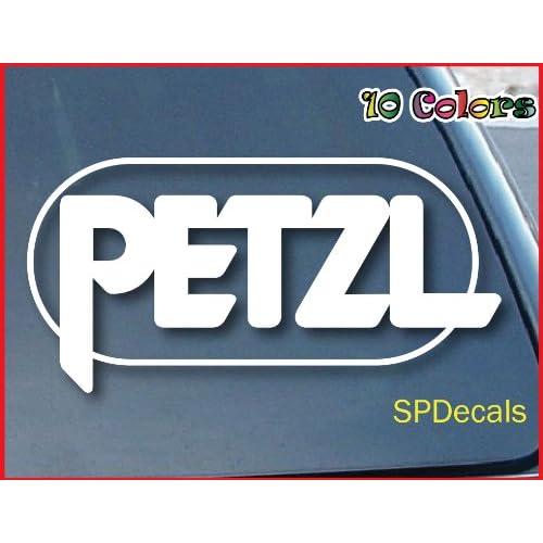 "Amazon.com: PETZL Rock Climbing Car Window Vinyl Decal Sticker 5"" Wide"