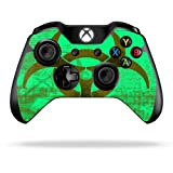 Protective Vinyl Skin Decal Cover for Microsoft Xbox One Controller Sticker Skins Biohazard