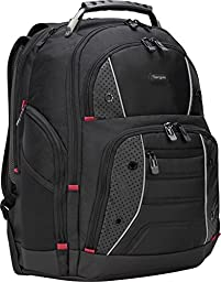 Targus Drifter II Backpack for 17-Inch Laptop, Black/Perforated (TSB23901)