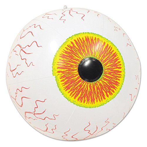 "Beistle Inflatable Eyeball, 16"", Multicolor"