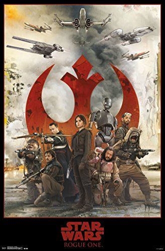 Star Wars Rogue One Assemble Movie Poster 22x34