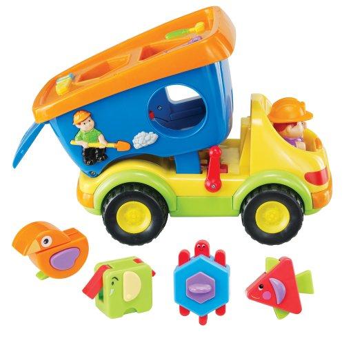 Kidoozie Super Shapes Dump Truck