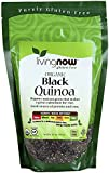 Living Now Organic Black Quinoa 14 oz (397 grams) Pkg
