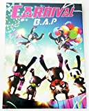 B.A.P BAP - CARNIVAL (5th Mini) [SPECIAL ver.] CD + 60p Photobook + Photocard + Photocard + Standing Paper + Folded Poster + Extra Gift Photocard Set by B.A.P BAP