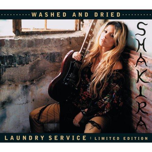 shakira laundry service album cover. shakira laundry service CD