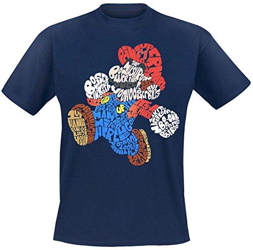 nintendo-mario-built-of-text-t-shirt-bleu-m