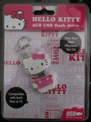Hello Kitty 4GB USB Flash Drive (46109-HK)