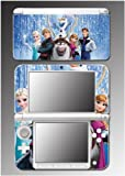 Frozen Princess Anna Elsa Olaf Kristoff Movie Video Game Vinyl Decal Cover Skin Protector for Nintendo 3DS XL Console System