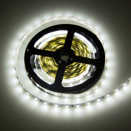 Lemonbest® 5M 5Meter 16.4Feet Roll Super Bright Non-Waterproof Smd 5630 300 Leds Flexible Cool White Led Lighting Strip front-627367