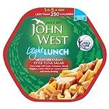 John West Light Lunch Mediterranean Style Tuna Salad 6x220g